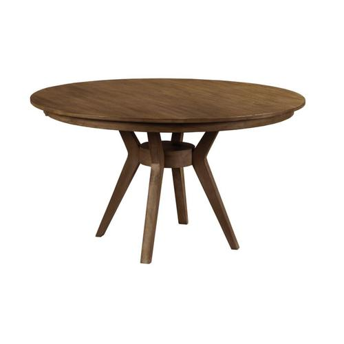 "54"" Round Dining Table Complete"