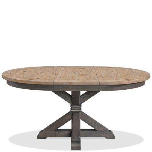 Harper - Round Dining Table Base - Matte Black Finish
