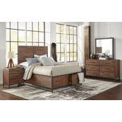 Studio 16 Queen Footboard, Drawers, and Slats