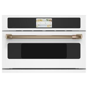 "Cafe AppliancesCafe 30"" Smart Five in One Wall Oven with 240V Advantium ® Technology"