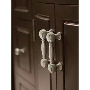Weymouth polished nickel drawer pull