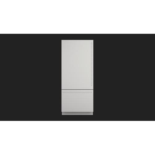 """36"""" Built-in Fridge - Left Hinge - Overlay Panel"""
