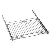 """See Details - Telescopic glide shelf kit for 36"""" ranges Chrome"""