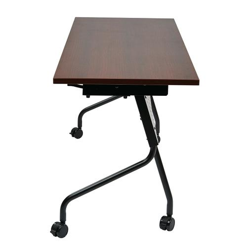 """Office Star - 5"""" Black Frame With Mahogany Top"""