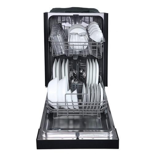 "Danby Canada - Danby 18"" Black Built In Dishwasher"