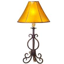 "21"" Forged Iron Lamp No Shade DISCONTINUED"