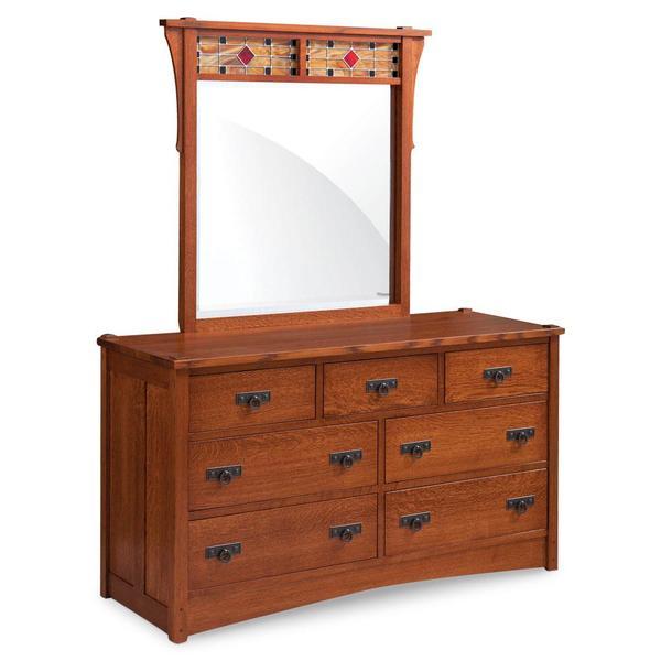 See Details - Grant 7-Drawer Dresser, 60'w x 21 'd x 34'h