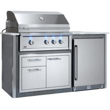 """See Details - Appliance Ready Pre-Assembled 36"""" Designer Island Gray"""