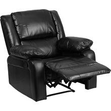 Harmony Series Black LeatherSoft Recliner