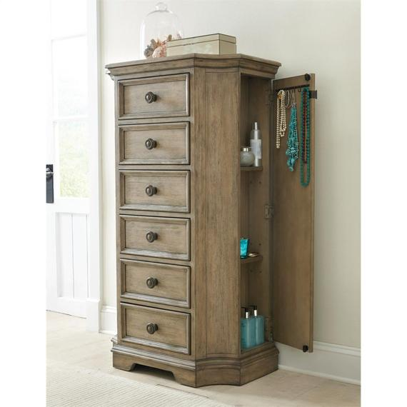 Riverside - Corinne - Lingerie Chest - Sun-drenched Acacia Finish