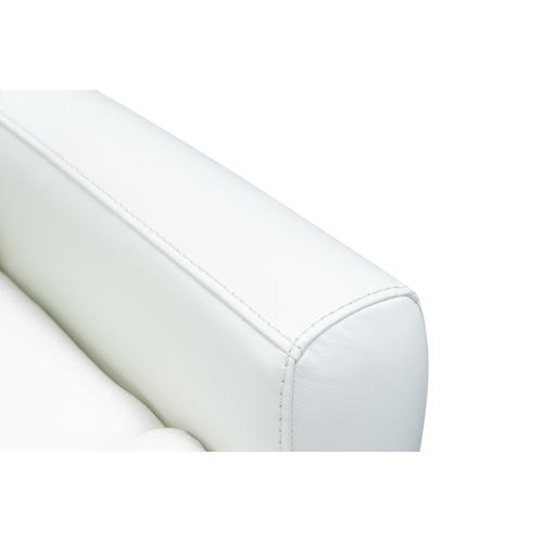 Barca Lounger - Donavan Power Recline Winter-White