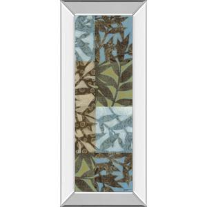 """Leaves I"" Mirror Framed Print Wall Art"