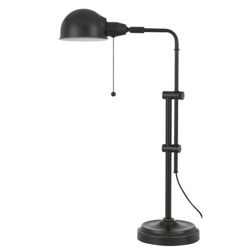 60W Corby Pharmacy Desk Lamp With Pull Chain Switch