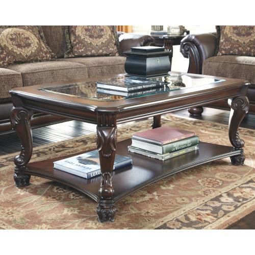 Ashley Furniture Signature Design, Ashley Furniture Glass Coffee Table