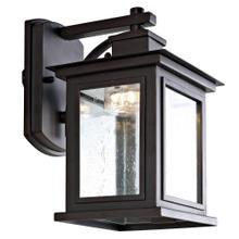 Gorgen Outdoor Wall Lantern - Oil Rubbed Bronze (black)