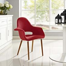 Aegis Dining Armchair in Red
