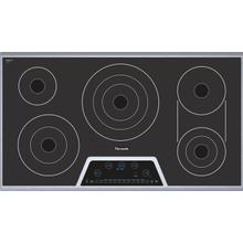 """See Details - Masterpiece Deluxe 36"""" Electric Cooktop with Touch Control and Bridge Element CET366FS"""