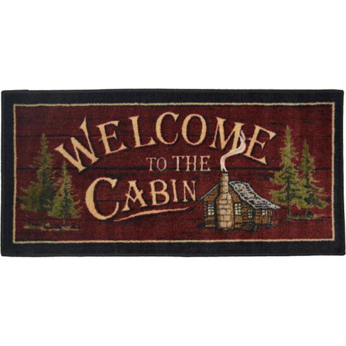 Cozy Cabin Welcome to the Cabin