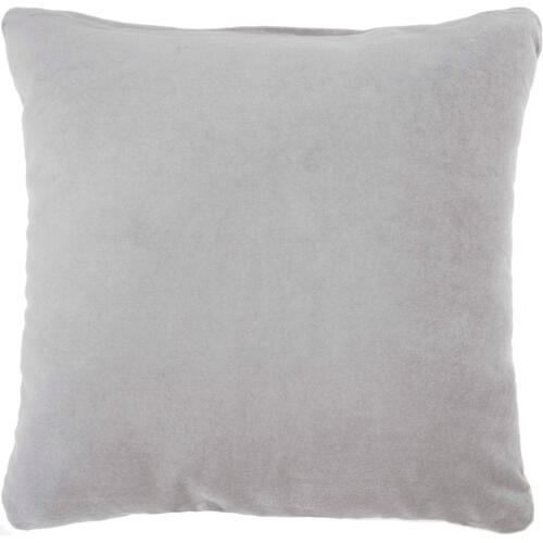 "Life Styles Ss900 Grey 16"" X 16"" Throw Pillow"