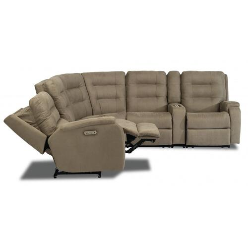 Arlo Power Reclining Sectional with Power Headrests