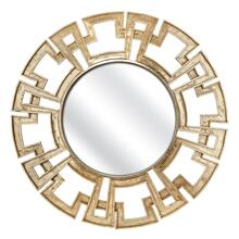 Calista Greek Key Frame Mirror