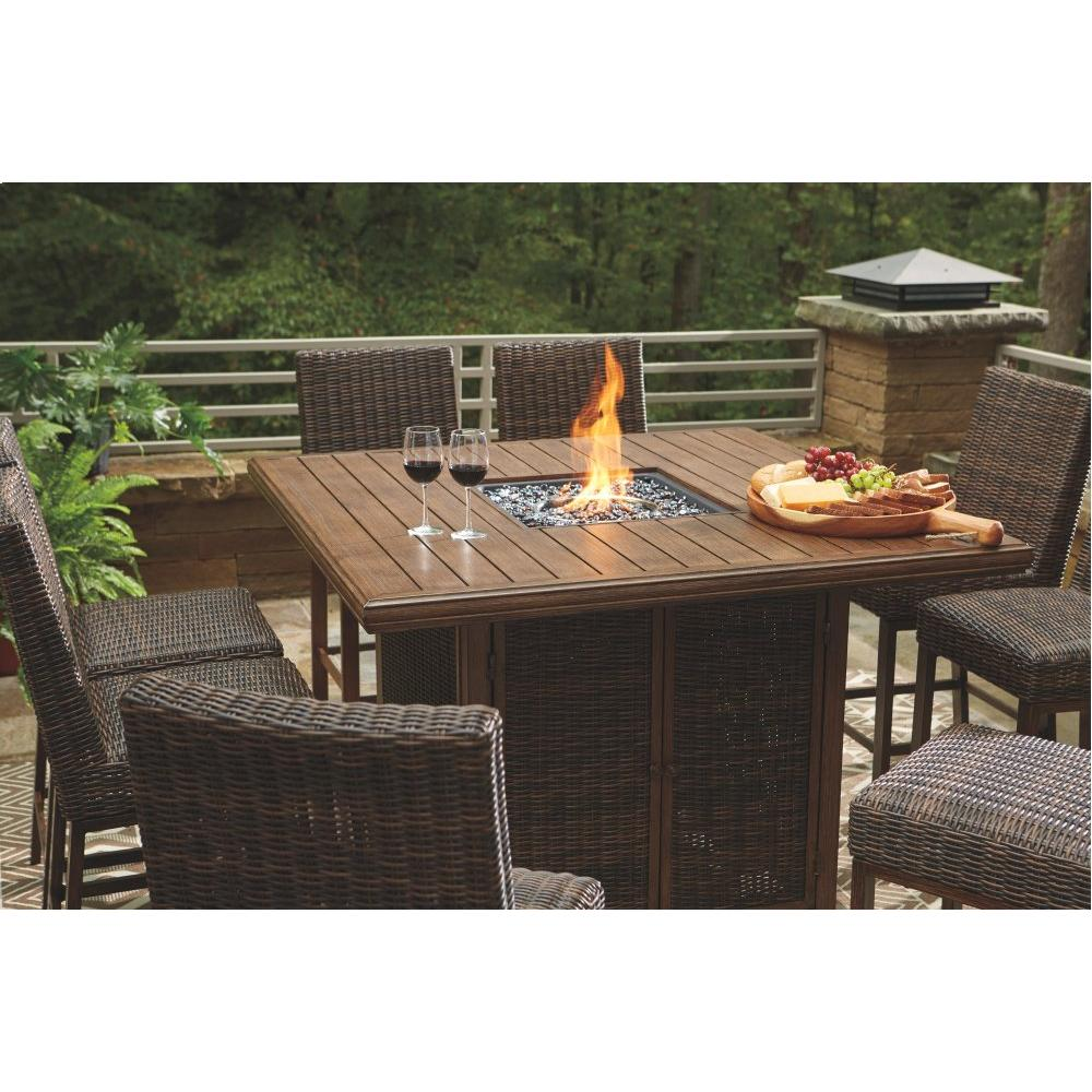 Outdoor Dining Table and 8 Chairs