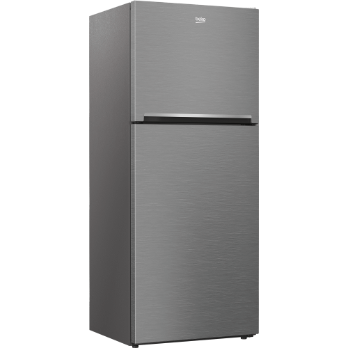 """Beko - 28"""" Freezer Top Stainless Steel Refrigerator with Auto Ice Maker"""