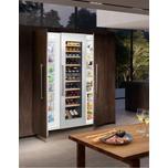 """Liebherr 24"""" Built-in multi-temperature wine cabinet"""