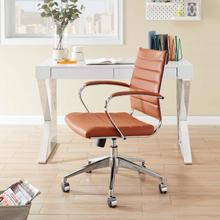 See Details - Jive Mid Back Office Chair in Terracotta