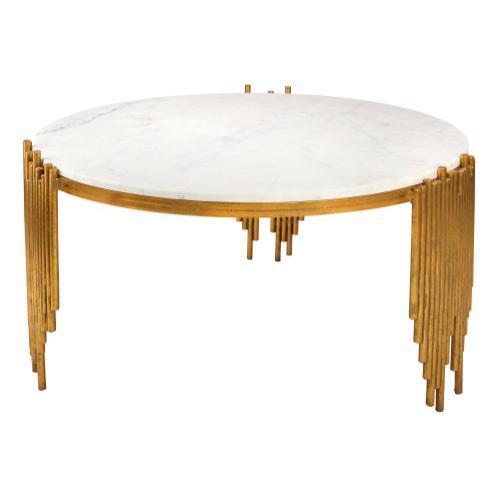 Tov Furniture - Waterfall Marble Coffee Table