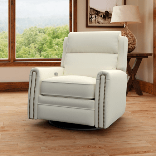 Comfort Designs - Camelot Power Reclining Swivel Chair CP737-10/PRSWV