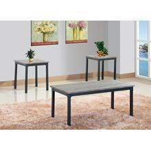 Siwa 3pc Coffee Table Set
