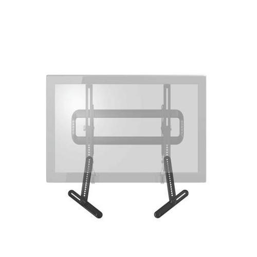 Black Soundbar Speaker Mount for soundbars up to 15 lbs / 6.8 kg