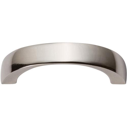 Tableau Curved Pull 1 13/16 Inch (c-c) - Polished Nickel