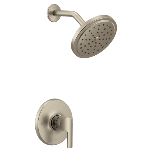 Doux brushed nickel m-core 3-series shower only