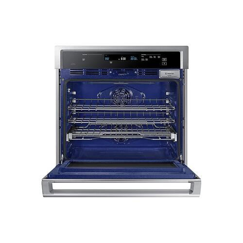 "30"" Smart Single Wall Oven with Steam Cook in Stainless Steel"