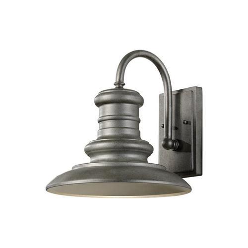 Redding Station Medium Lantern Wildlife Friendly Tarnished Silver Bulbs Inc