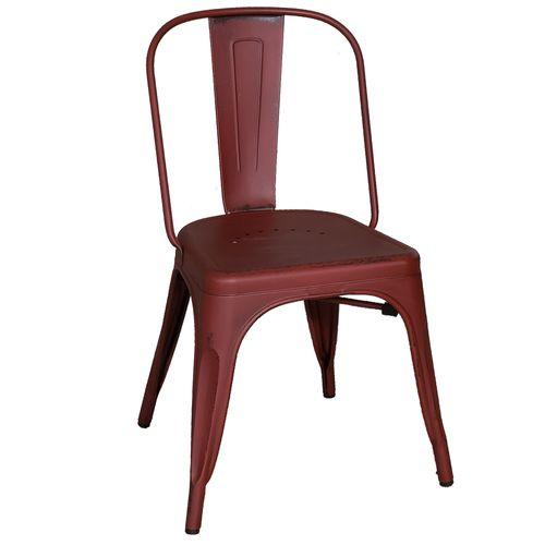 Product Image - Bow Back Side Chair - Red