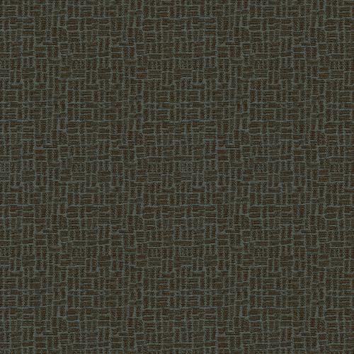 Flash Furniture - 18.5''W Church Chair in Cobblestone Chocaqua Fabric with Book Rack - Gold Vein Frame