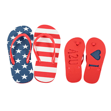 "Youth ""I Heart USA"" Flip Flops (6 pr. ppk.)"