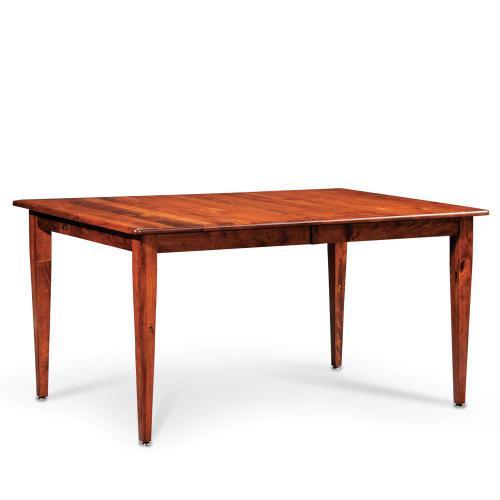Simply Amish - Shenandoah Leg Table - Express, Character Cherry/Michael's