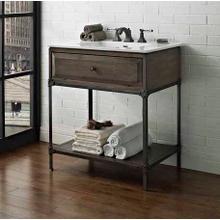 """See Details - Toledo 30"""" Open Shelf Vanity"""