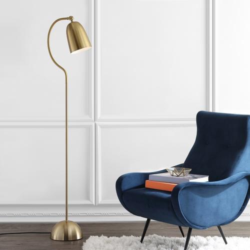 Zeid Floor Lamp - Brass Gold