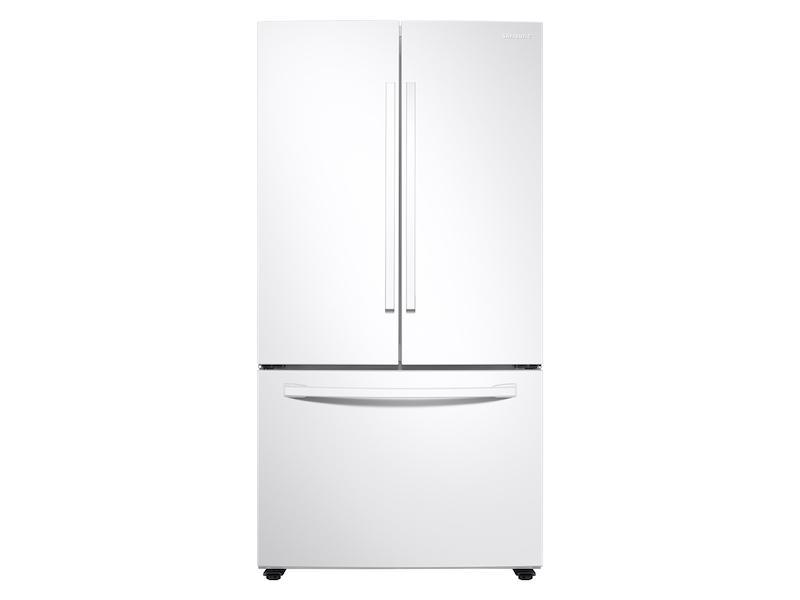 Samsung28 Cu. Ft. Large Capacity 3-Door French Door Refrigerator With Internal Water Dispenser In White