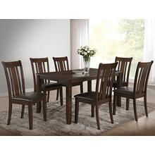 7827 7PC Two-Tone Dining Room SET