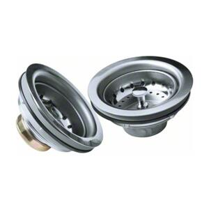 "3-1/2"" Stainless Steel Sink Strainer Product Image"