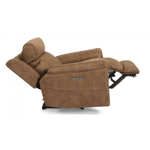 Rhett Power Recliner with Power Headrest