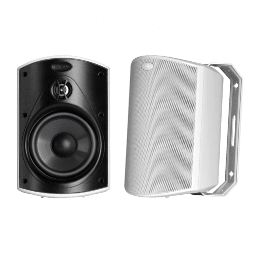 "All Weather Outdoor Loudspeakers with 5"" Drivers and 3/4"" Tweeters in White"