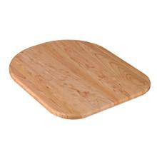 "Natural Wood Cutting Board - D Shape Cutting Board 13"" x 16.5"""