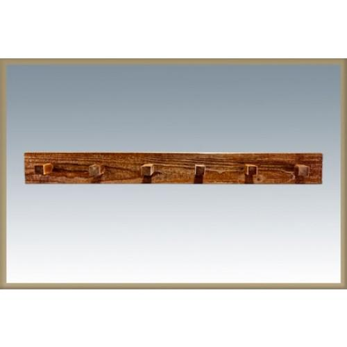 Homestead Coat Rack - Stained and Lacquered